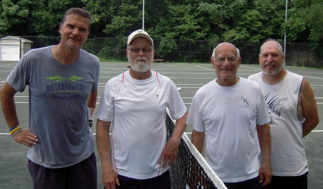 Jim Galus, Ray Nabb, Jim Farber, Kenny Filbert