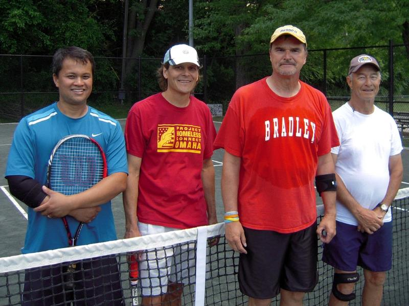 Bob McGovern, Gary Carlson, Jim Galus, and John Boyce (L-R).  First and second place finalists.