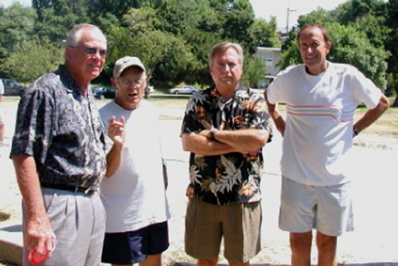Mayor Fahey, Jack, Larry Foster, David Weber
